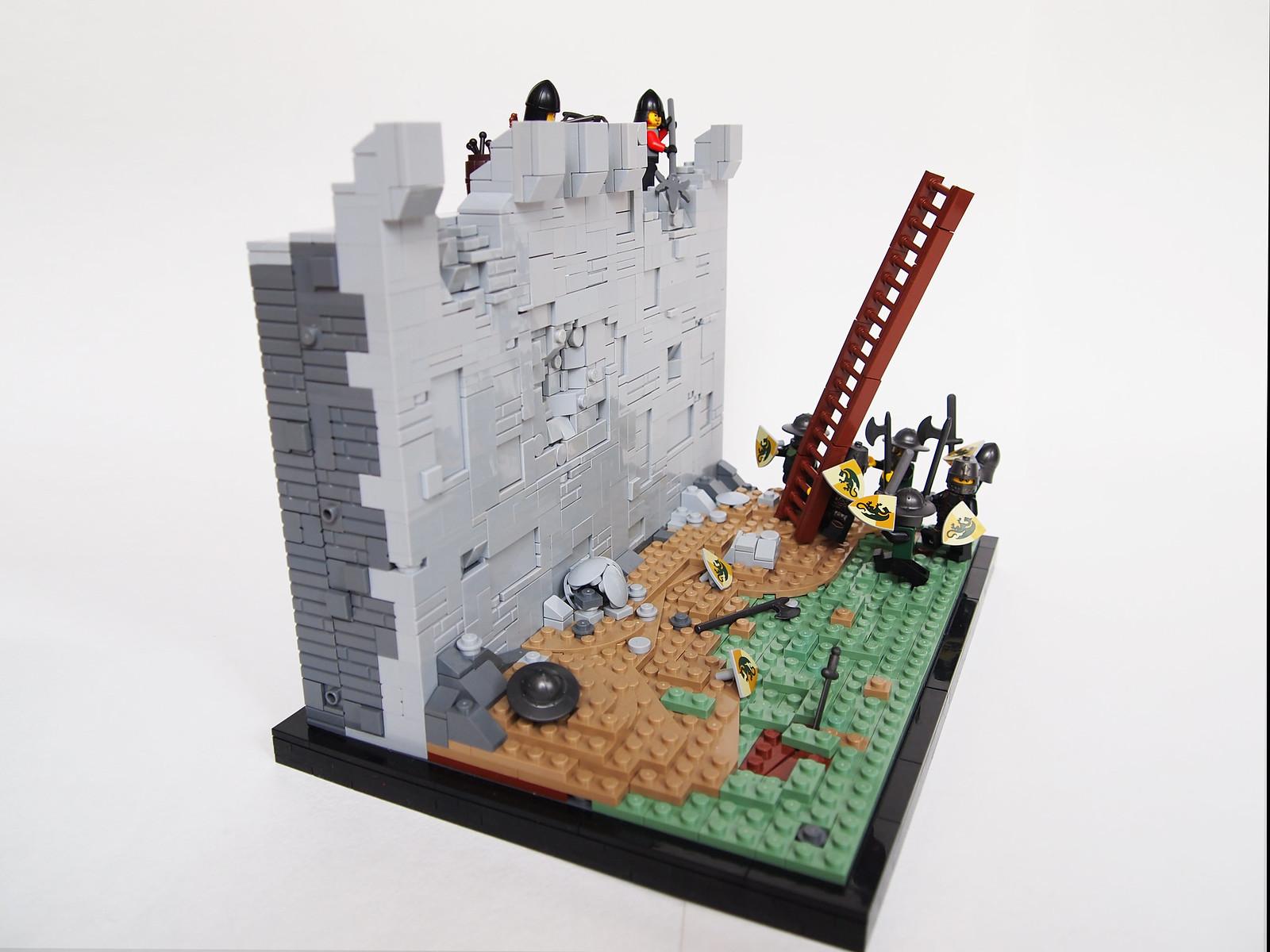 God of War  Triptych – LEGO MOCs – Ukrainian Masters – The
