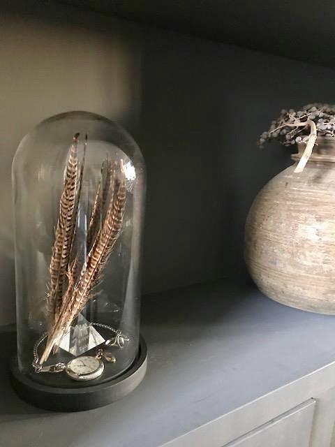 Zakhorloge veren onder stolp