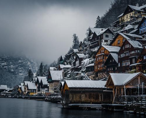 Hallstatt in Winter Days from Toni Hoffmann