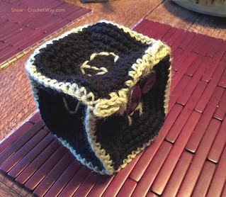20171231-Crochet d6 dice bag