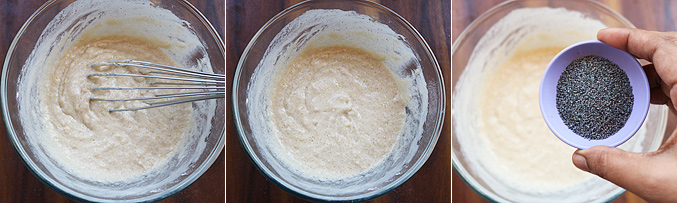 How to make lemon poppy seeds cake recipe - Step4