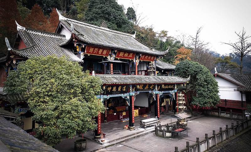 Quanzhen Temple (全真觀) #3 - Chengdu, China (成都, 中國)