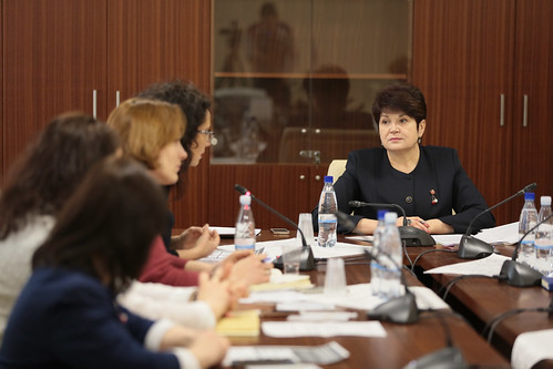 """06.03.2018 Discuție, Valentina Buliga cu reprezentantele Coaliției Naționale """"Viața fără Violență în Familie"""""""