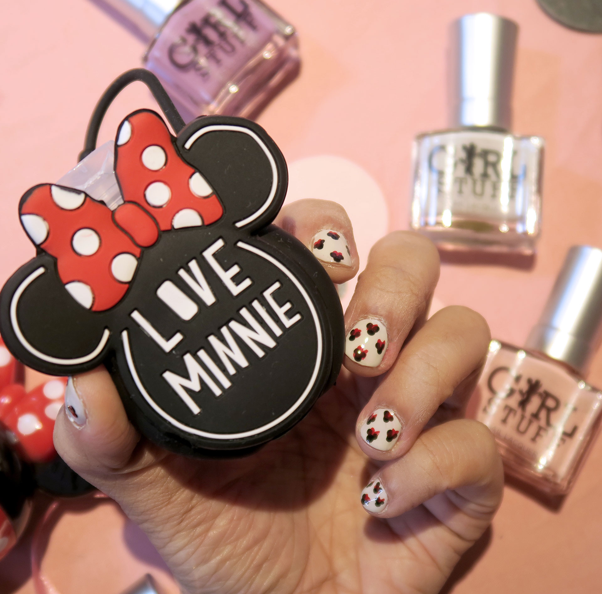 15 Girlstuff Minnie Mouse Nail Lacquers Collection Review Swatches Photos - Gen-zel She Sings Beauty