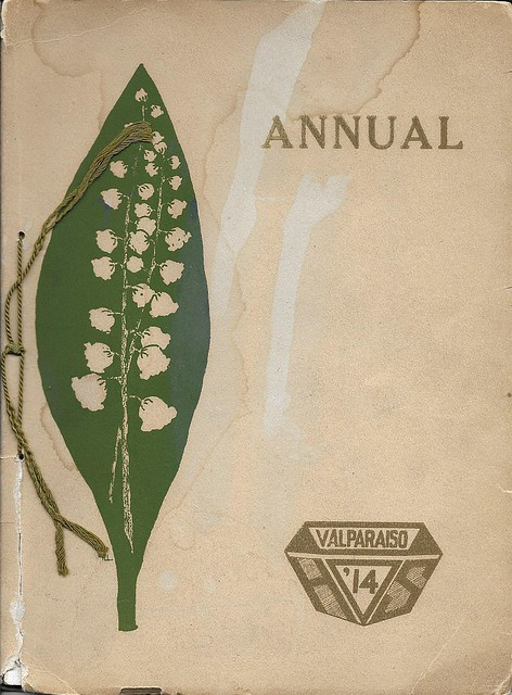 Valpo HS 1914 yearbook cover