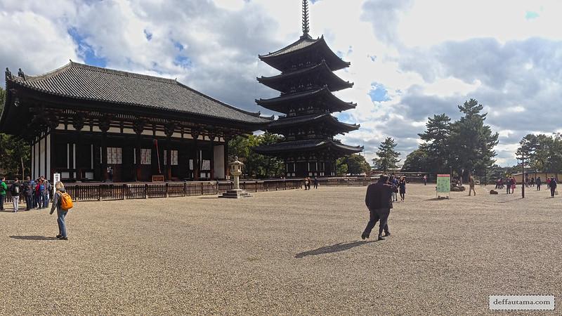 Setengah Hari di Nara - Kohfukuji Temple
