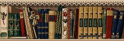 [image] books border graphic