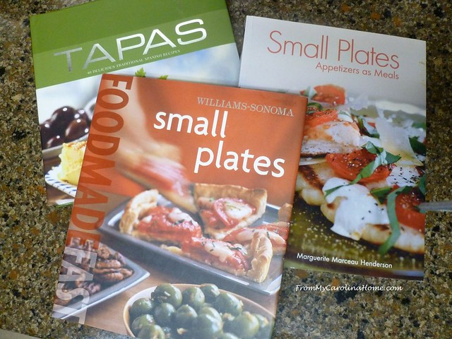 Small Plates books at From My Carolina Home