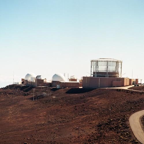 "Image titled ""Haleakala Observatory, Maui."""