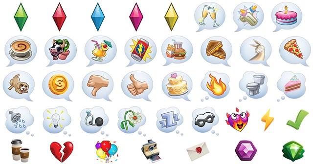 Adesivos Temáticos do The Sims