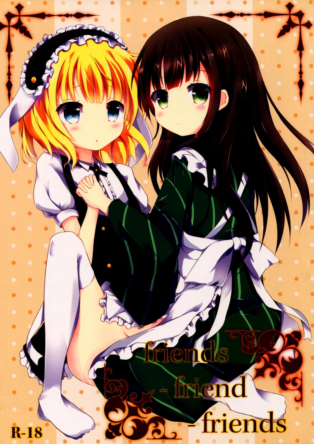 HentaiVN.net - Ảnh 1 - friends-friend-friends (Gochuumon wa Usagi desu ka?) - Oneshot