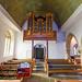 Tudeley All Saints Nave and Organ Loft