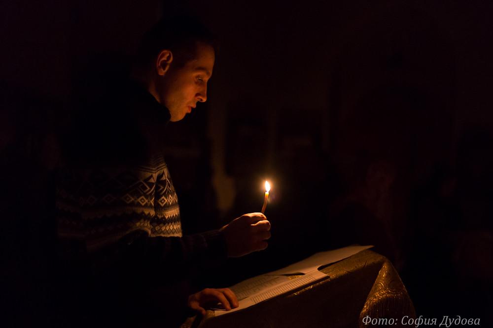 7.02. Вечерня с участием учащихся взрослой воскресной школы