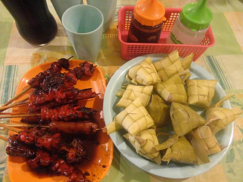 Signature barbecue and puso