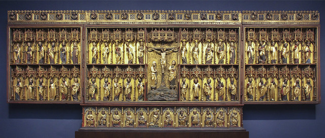 Retable of the former High Alter of St. Peter's Church in Hamburg (Grabow Alter) c.1379-83, Bertram von Minden