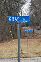 Blue (Union) & Gray (Confederate) - near the Brandy Station Battlefield