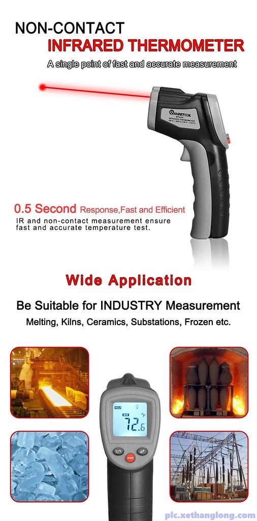 Súng đo được nhiệt độ của nhiều môi trường khác nhau