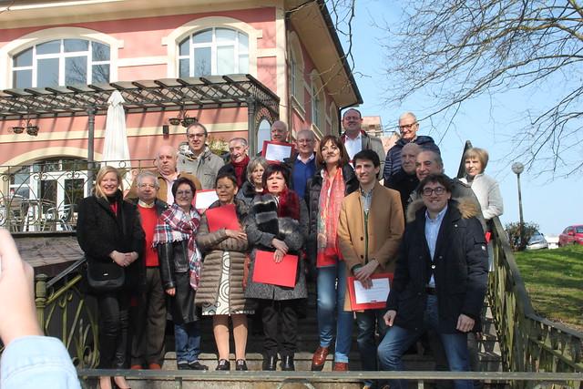 Homenaje 25 años concejales Lasarte-Oria