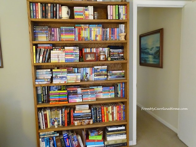 My Bookshelves at From My Carolina Home