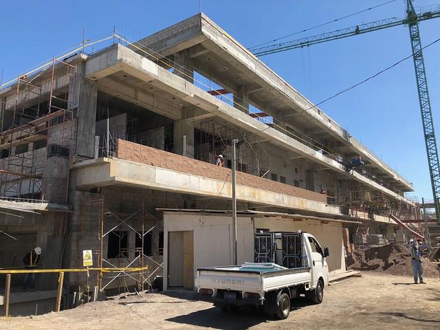 Director General de ISSS verifica avances del nuevo Hospital Regional en San Miguel