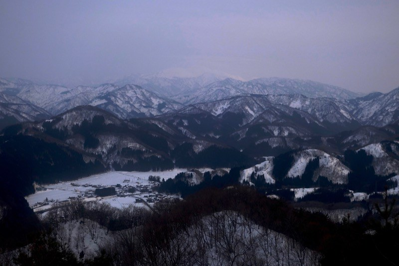 View from the Mt. HITOMOSHIYAMA