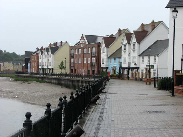 The waterfront at Wivenhoe