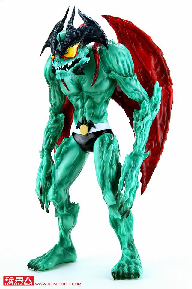 """備受期待的軟膠新作終於正式發行! Unbox Industries - """"惡魔人 Devilman"""" by Mike Sutfin 開箱報告!"""