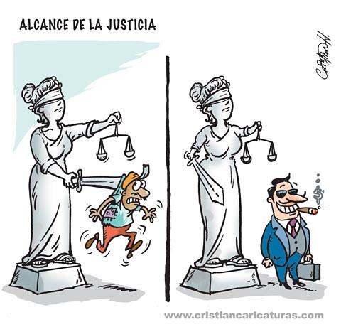 Alcance de la justicia