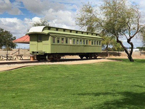 Yuma Colorado River train