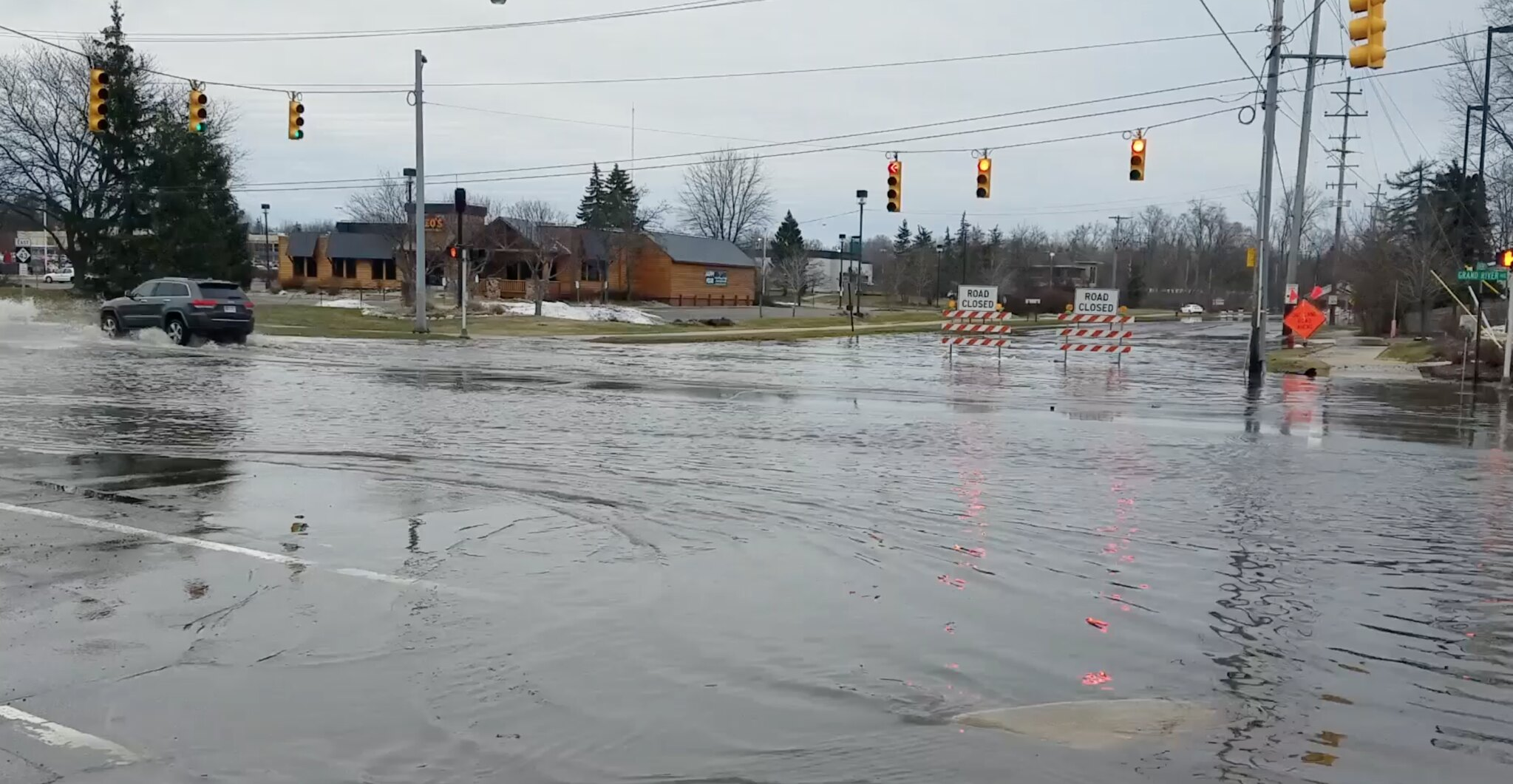 Major Flooding Affects Meridian Township