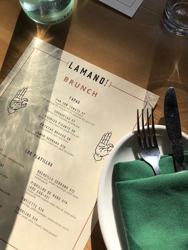 Brunch at Lamano