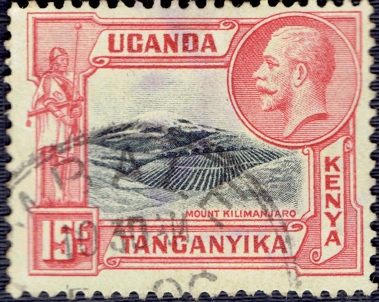 Kenya, Uganda & Tanganyika - Scott #49 (1935)