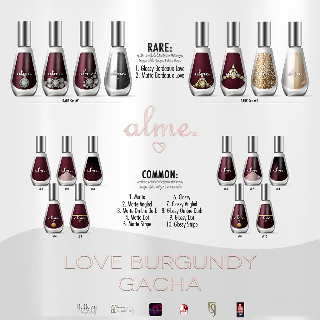 alme. Love Burgundy Gacha