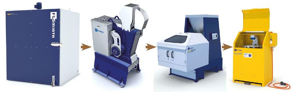 dAu (преобладающий размер) < 80 мкм — традиционная пробоподготовка. Используются сушильный шкаф, дробилка, делитель, кольцевая мельница. На пробирный анализ отдают пробы обычно 50 г.