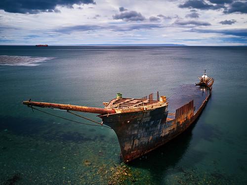 Lord lonsdale shipwreck, Punta Arenas