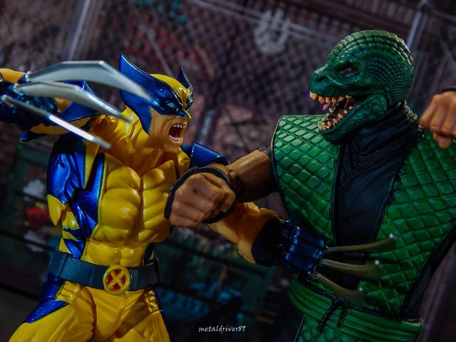 Wolverine vs. Reptile 2