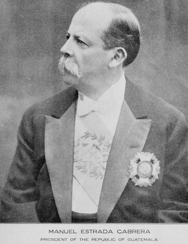 Estrada Cabrera in 1916.