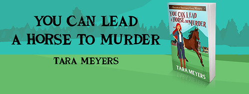 You Can Lead a Horse to Murder, banner of the front cover