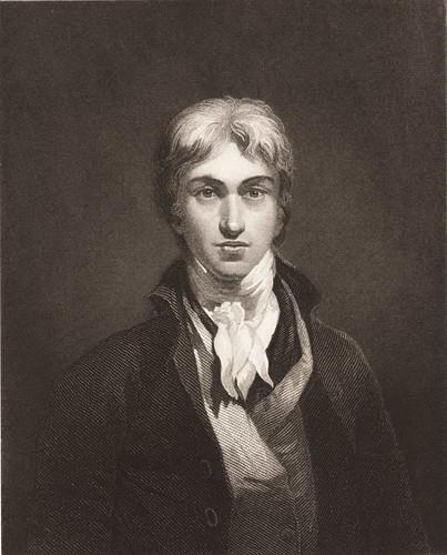 若い頃のターナー、未出品《ターナーの自画像(Wホウル[子]による版画)》1859-61年