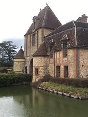 'Château des bois francs', Verneuil-sur-Avre (France)