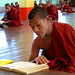 Reading monks in a monastry by Dick Verton ( more than 12.000.000 visitors )