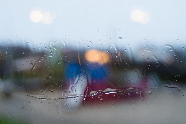 Horizontal rain