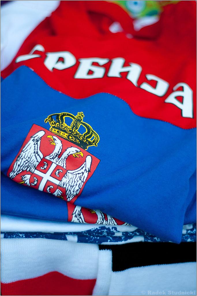 Koszulki Serbii