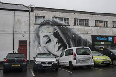 Street art, Tavistock St, Cardiff