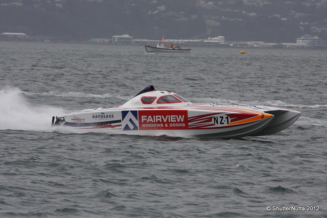 Powerboat racing, Wellington 4-2012 (54), Canon EOS 40D, Tamron SP 70-300mm f/4.0-5.6 Di VC USD
