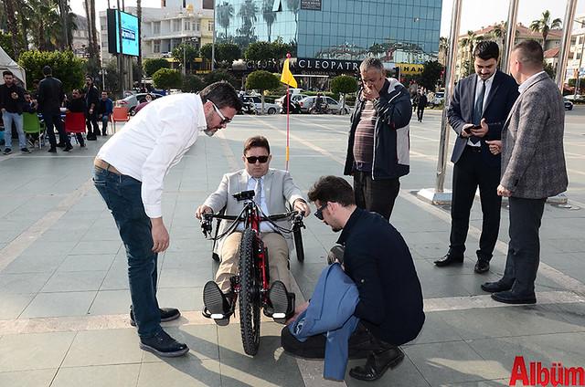Alanya'da 'Hand Bike' engelleri kaldıracak-5