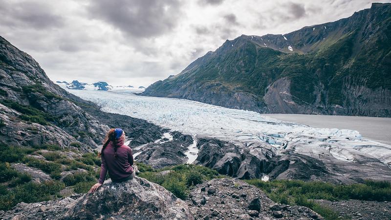 Da homer a Exit Glacier