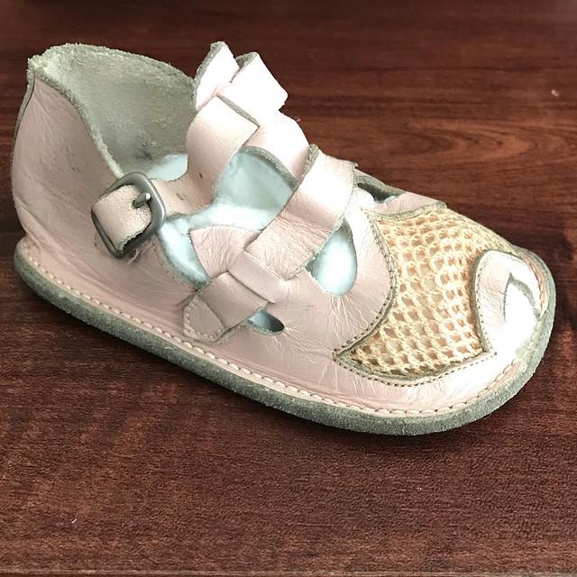 1952 Vintage Baby Shoe