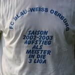 Aufstieg 1. Mannschaft 2003