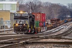 NS 8124 | GE ES44AC | UP Memphis Subdivision